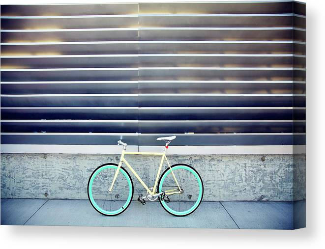 Tranquility Canvas Print featuring the photograph Fixie by I Love Taking Photo