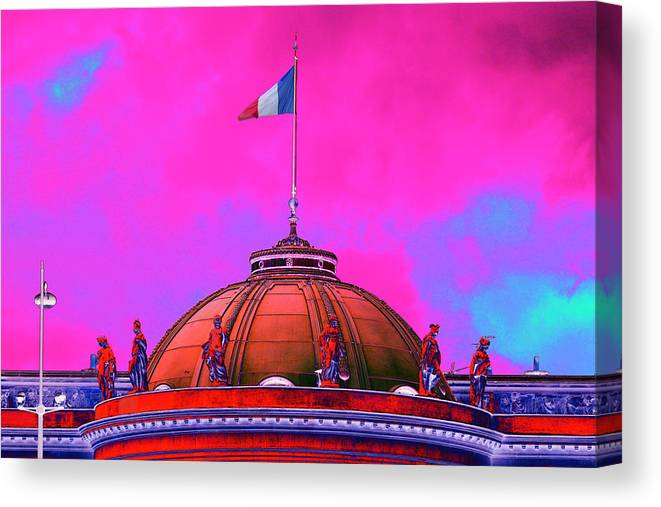 Dome Canvas Print featuring the photograph French Dome Art by Richard Henne