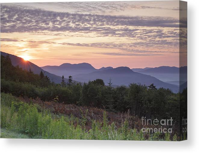 C.l. Graham Wangan Grounds Canvas Print featuring the photograph Kancamagus Highway - White Mountains New Hampshire USA by Erin Paul Donovan