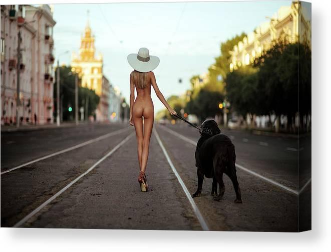 Dog nude