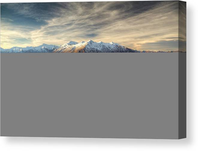 Tranquility Canvas Print featuring the photograph Landscape Of Wanaka by Joao Inacio