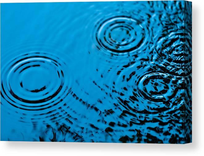 Rain Canvas Print featuring the photograph Let It Rain by Debi Bishop