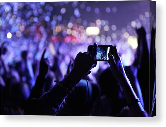 Event Canvas Print featuring the photograph Never Forget This Moment by Peopleimages