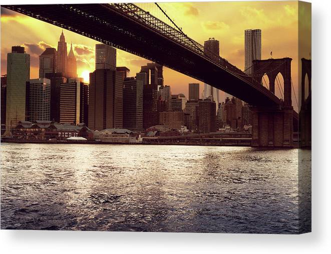 Tranquility Canvas Print featuring the photograph New Beginnings by Aleks Ivic Visuals