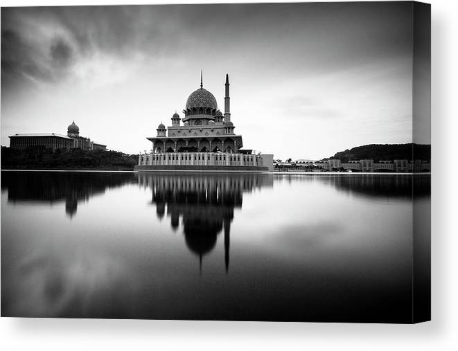 Tranquility Canvas Print featuring the photograph Peace by I Shoot And I Share