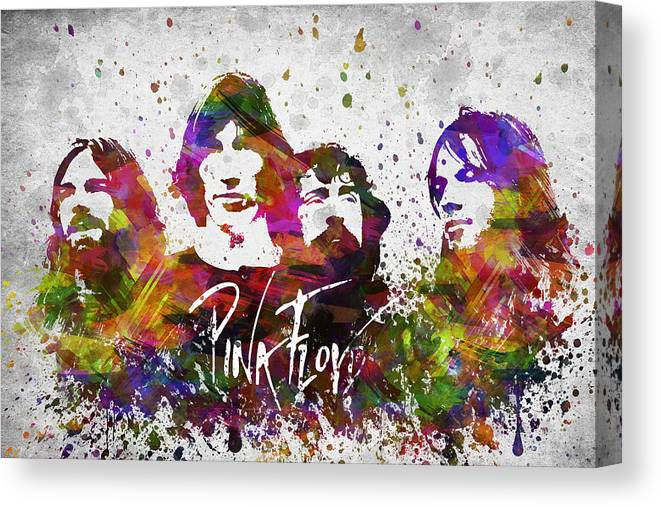 Print Art POSTER CANVAS Pink Floyd Rock Music Band Psychedelic