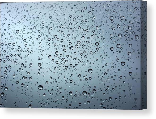 Horizontal Canvas Print featuring the photograph Rainy Day Out by Nigel Killeen