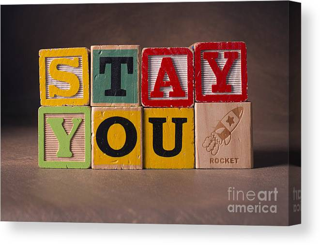 Stay You Canvas Print featuring the photograph Stay You by Art Whitton