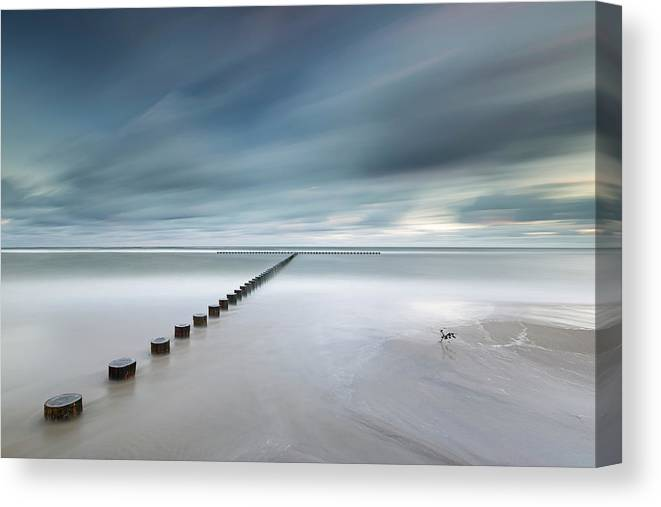 Poland Canvas Print featuring the photograph T by Rafal Nebelski