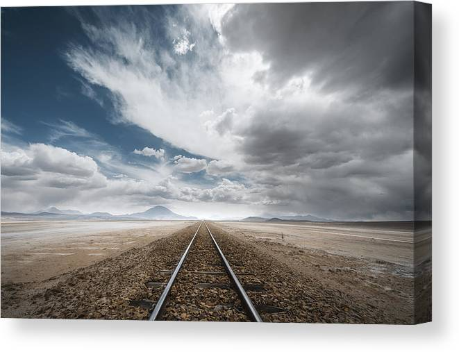 The Long Road Canvas Print Canvas Art By Rostovskiy Anton