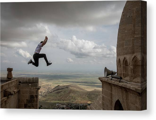 Lifestyles Canvas Print featuring the photograph World Parkour Championships by Chris Mcgrath
