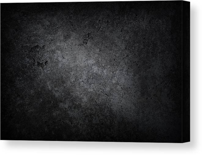 Material Canvas Print featuring the photograph XXXL dark concrete by Sbayram