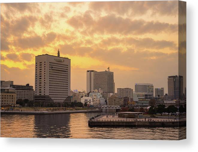 Tranquility Canvas Print featuring the photograph Yokohama by I Like Camera And Life