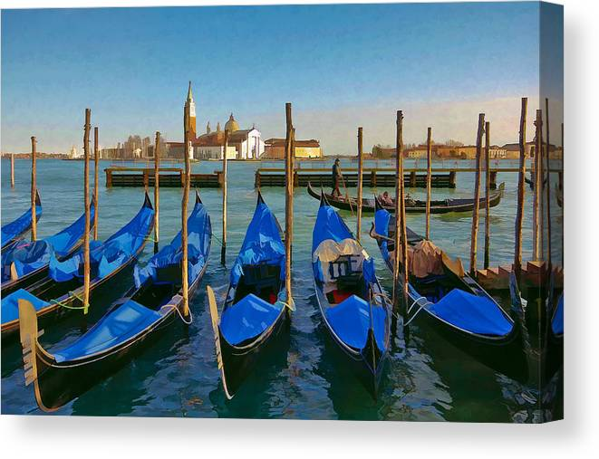 Europe Canvas Print featuring the photograph San Giorgio Maggiore by Andy Bitterer