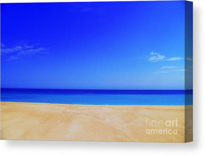 Sea Canvas Print featuring the photograph Finity by Gib Martinez