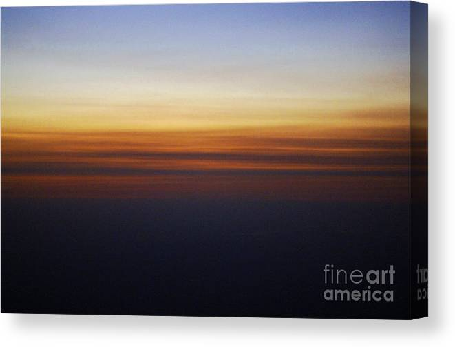 Sun Canvas Print featuring the photograph Nature's Brush Strokes by Gib Martinez