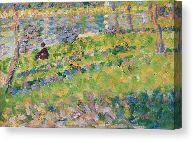 Study For Sunday Afternoon On The Island Of La Grande Jatte Canvas Print Canvas Art By Georges Pierre Seurat