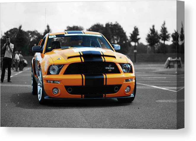 Ford Mustang Canvas Print featuring the photograph Ford Mustang by Jackie Russo