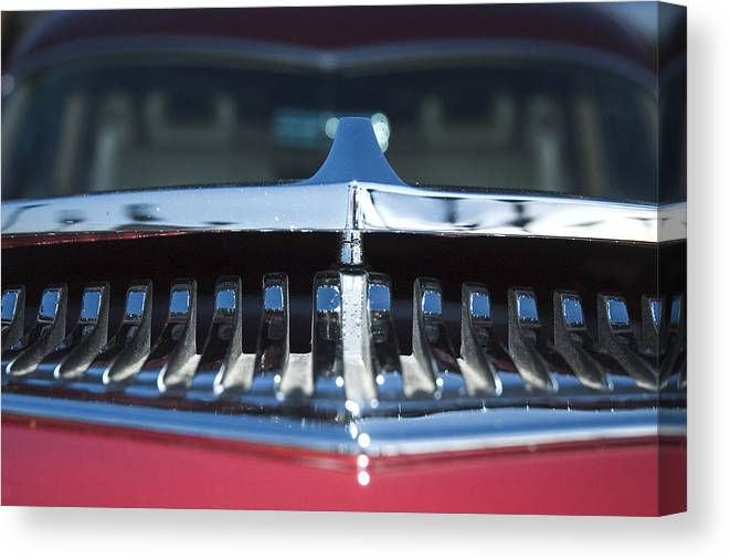 Auto Canvas Print featuring the photograph A Toothy Grin by Richard Henne