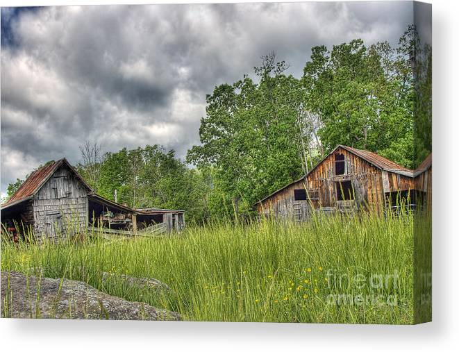 Virginia Canvas Print featuring the photograph About To Storm by Pete Hellmann