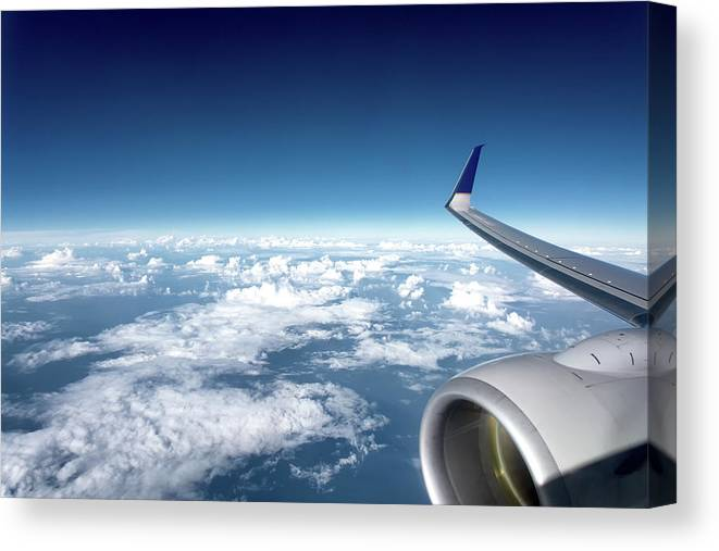Airplane Window View Canvas Print Canvas Art By Andres Meneses