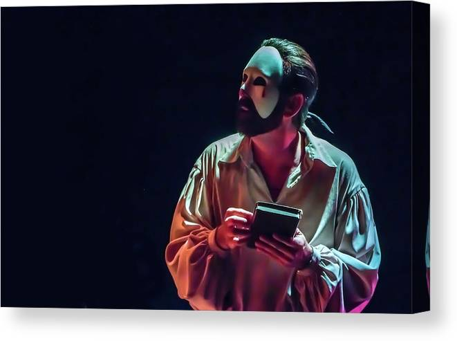 Live Theater Canvas Print featuring the photograph American Phantom by Alan D Smith
