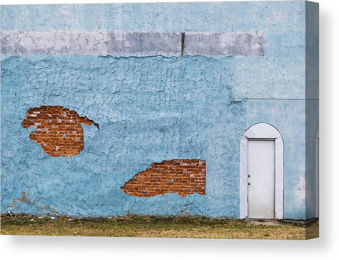 Color Canvas Print featuring the photograph Cedartown, Georgia by Keith May