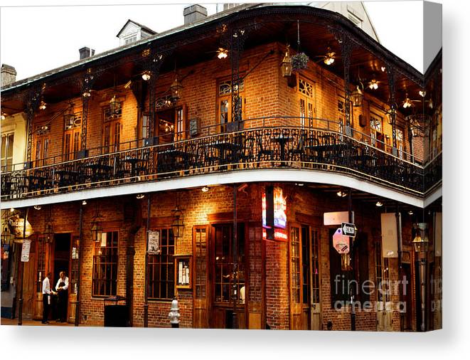 New Orleans Canvas Print featuring the photograph New Orleans and all that Jazz by Kim Fearheiley