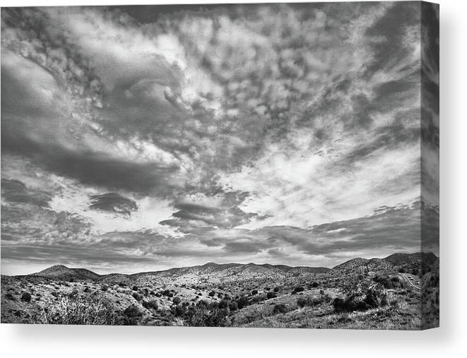 Arizona Canvas Print featuring the photograph Road to Payson by Jim Painter