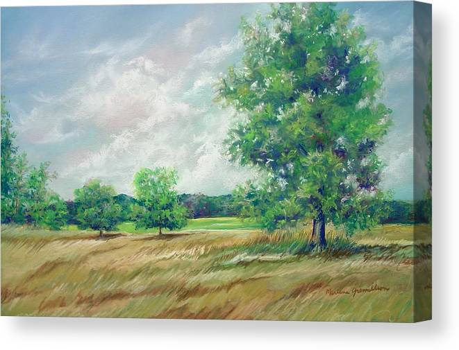 Pastel Canvas Print featuring the painting Serenity by Marlene Gremillion