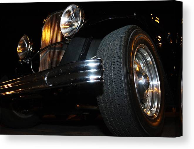 Auto Canvas Print featuring the photograph Sunset Grille by Richard Henne