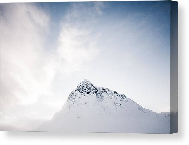 Buachaille Etive Mor Canvas Print featuring the photograph The Great Herdsman #2 by Kate Morton