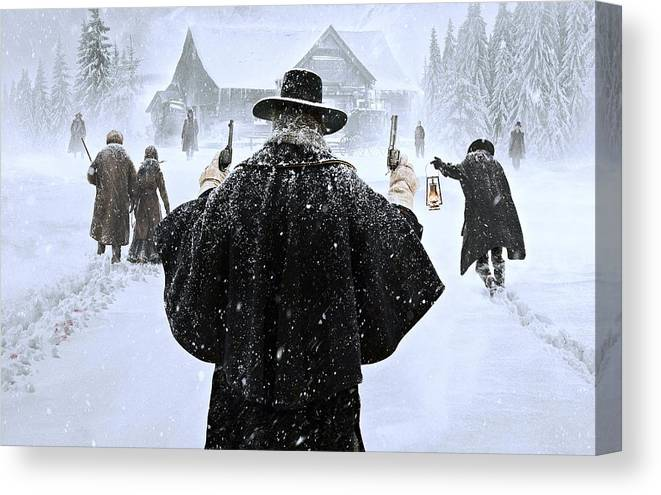 THE HATEFUL EIGHT Movie PHOTO Print POSTER Samuel L Jackson Kurt Russell Art 003