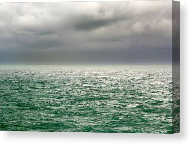 Viewpoint Canvas Print featuring the photograph Sea View by Stockcam