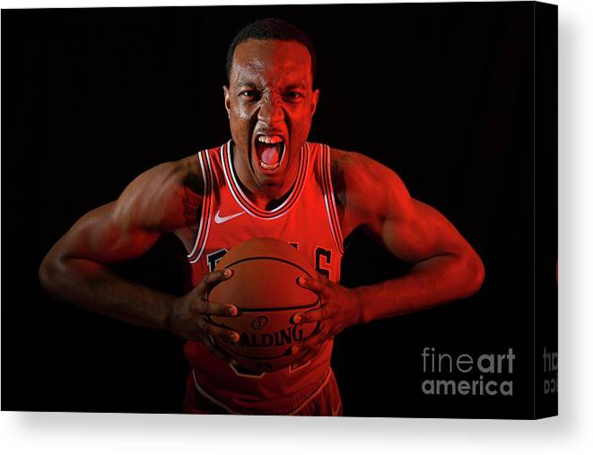 Nba Pro Basketball Canvas Print featuring the photograph 2018 Nba Rookie Photo Shoot by Brian Babineau