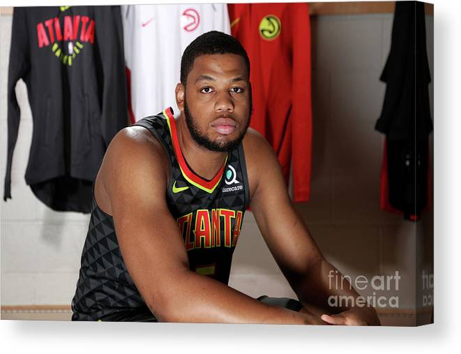 Nba Pro Basketball Canvas Print featuring the photograph 2018 Nba Rookie Photo Shoot by Nathaniel S. Butler