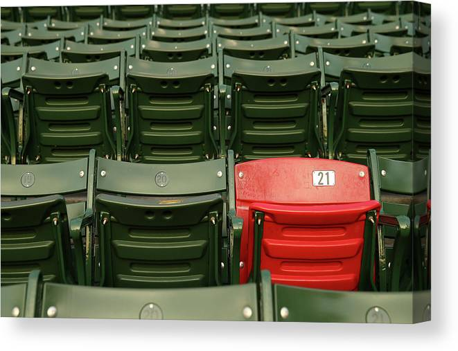 Playoffs Canvas Print featuring the photograph World Series - St Louis Cardinals V by Elsa
