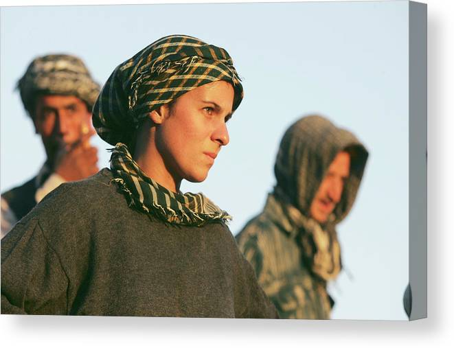 People Canvas Print featuring the photograph Ancient Treasures Of Afghanistan by John Moore