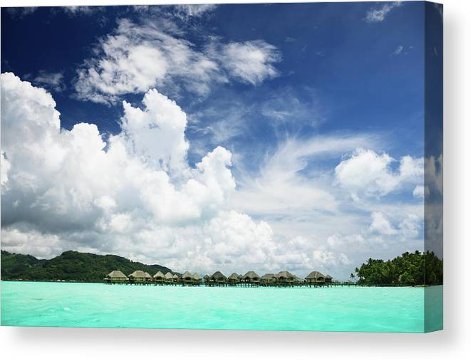 Standing Water Canvas Print featuring the photograph Blue Lagoon Holiday Luxury Resort by Mlenny