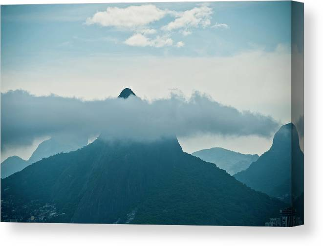 Tranquility Canvas Print featuring the photograph Brazil, Rio De Janeiro, Two Brothers by Win-initiative