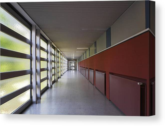 New Business Canvas Print featuring the photograph Corporate Interior by Elkor