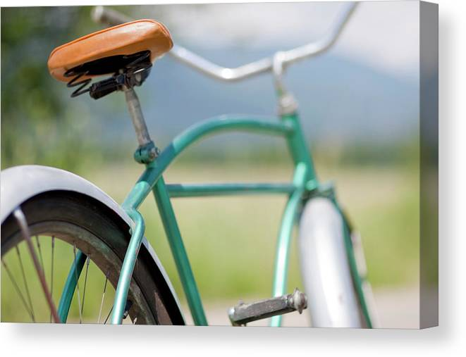 Tranquility Canvas Print featuring the photograph Cruiser Bicycle by Rocksunderwater