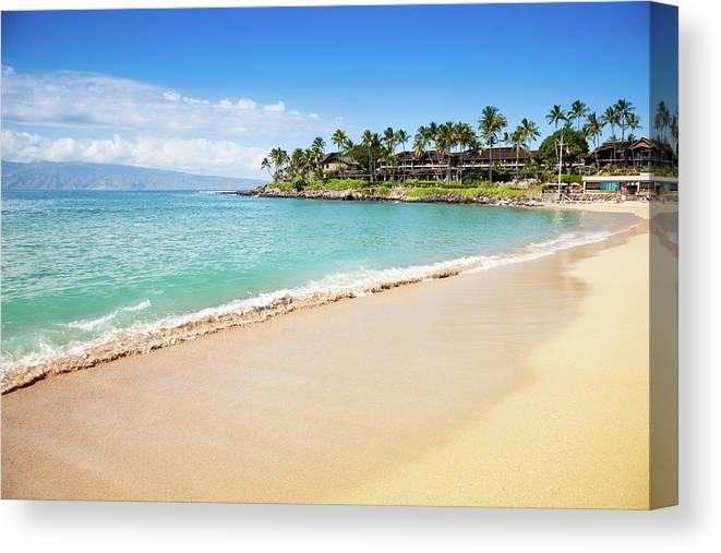 Lahaina Canvas Print featuring the photograph Dream Beach Napili Bay Maui Hawaii by Mlenny