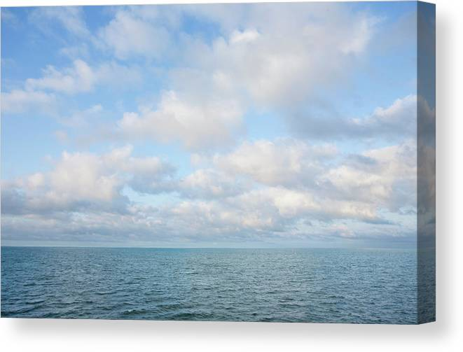 Tranquility Canvas Print featuring the photograph Early Morning, Nantucket Sound by Nine Ok