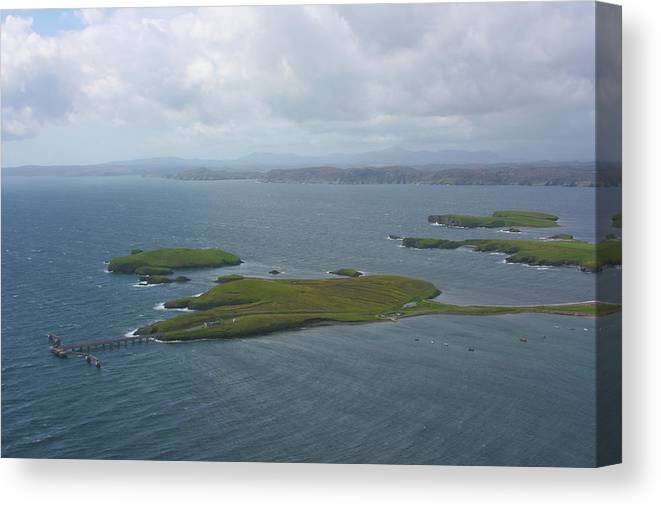 Tranquility Canvas Print featuring the photograph Holm, Stornoway, Isle Of Lewis by Donald Morrison
