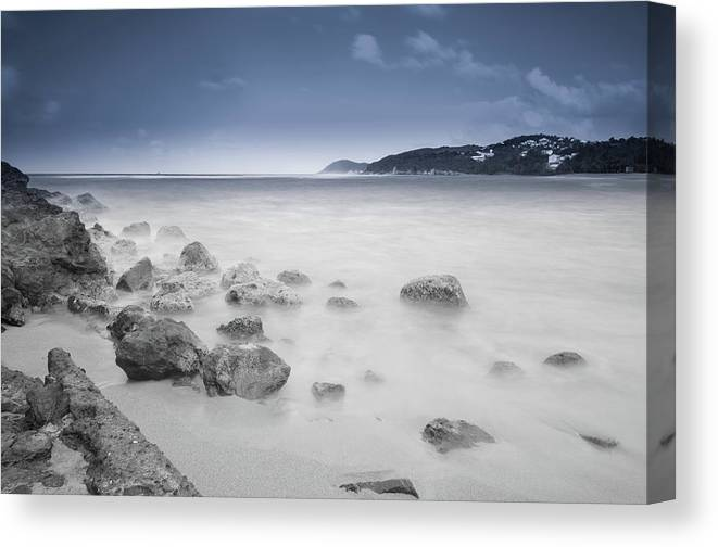 Scenics Canvas Print featuring the photograph Ice Age by Pict-your
