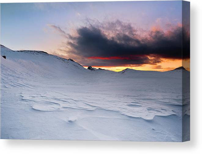 Alba Canvas Print featuring the photograph Ice Age by Scacciamosche