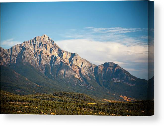 Scenics Canvas Print featuring the photograph Jasper Valley by Abishome