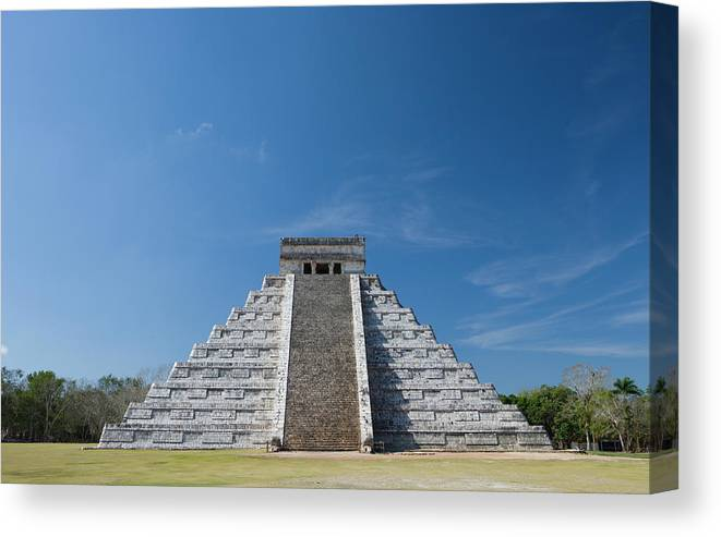 Latin America Canvas Print featuring the photograph Mexico, Yucatan Peninsula, Yucatan by Adam Crowley