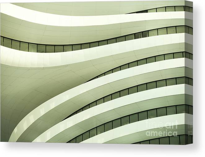 Arch Canvas Print featuring the photograph Modern Architecture by Phototalk